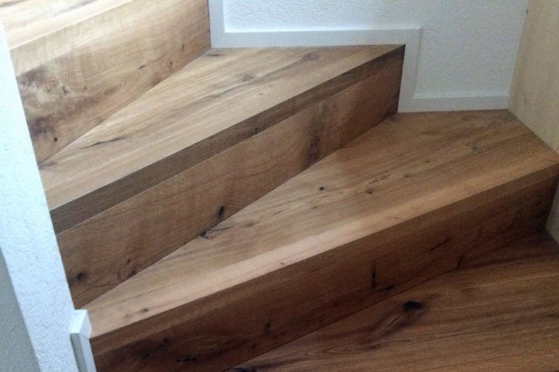 Treppe in Holz
