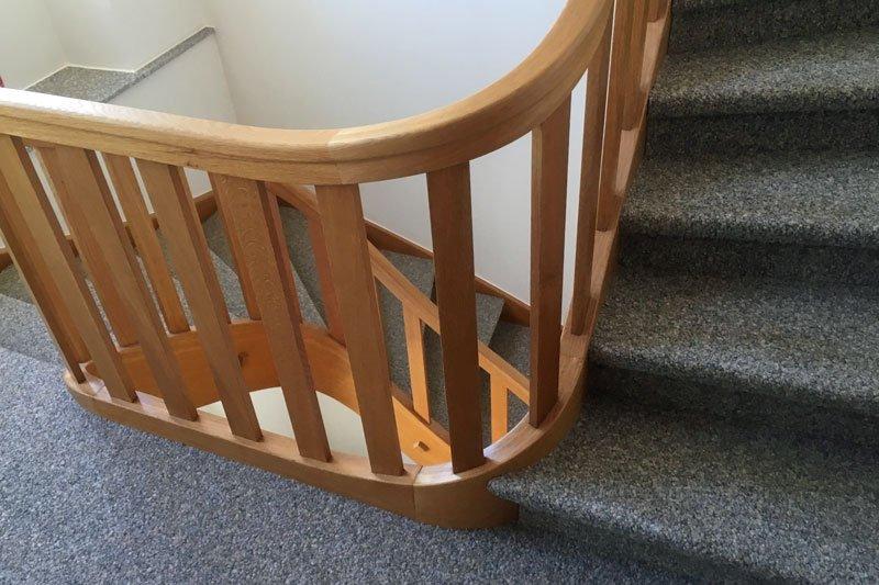 Kugelgarn für die Treppe