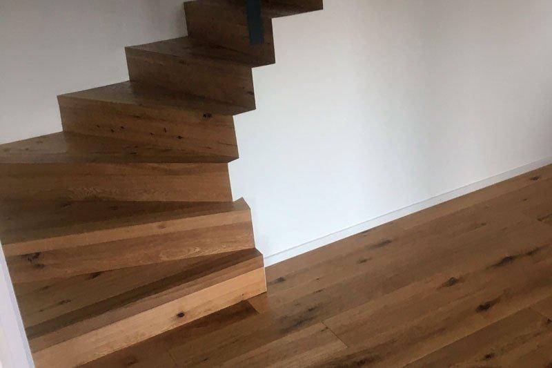 Parkettboden Treppe