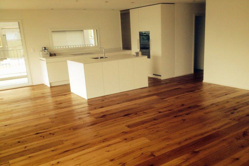 Parkettboden Küche/Wohnen